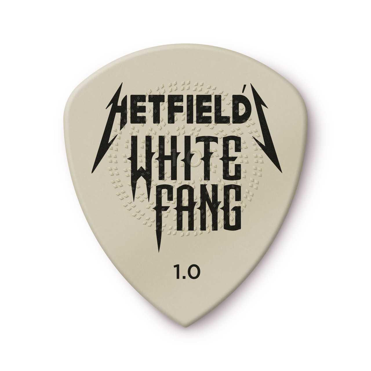 Набор медиаторов Dunlop PH122P1.00 Hetfield's White Fang Custom Flow Pick 1.00mm (6 Pack)