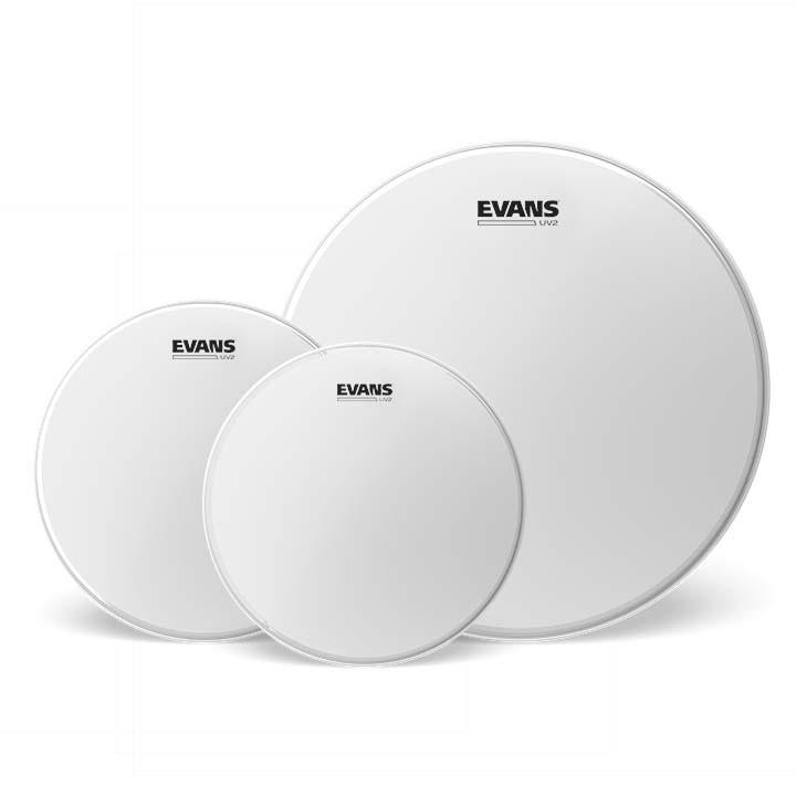 Набор пластиков для томов Evans ETP-UV2-R UV2 Coated Rock Set