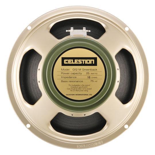 Гитарный динамик Celestion G12M Greenback (16Ω)