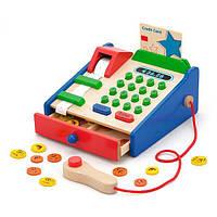 Деревянный игровой набор Viga Toys Кассовый аппарат (59692), фото 1