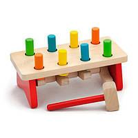 """Игрушка Viga Toys """"Забей гвоздик"""" (59719), фото 1"""