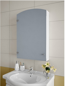 Шкаф зеркальный Garnitur.plus в ванную без подсветки 50Z (DP-V-200213)
