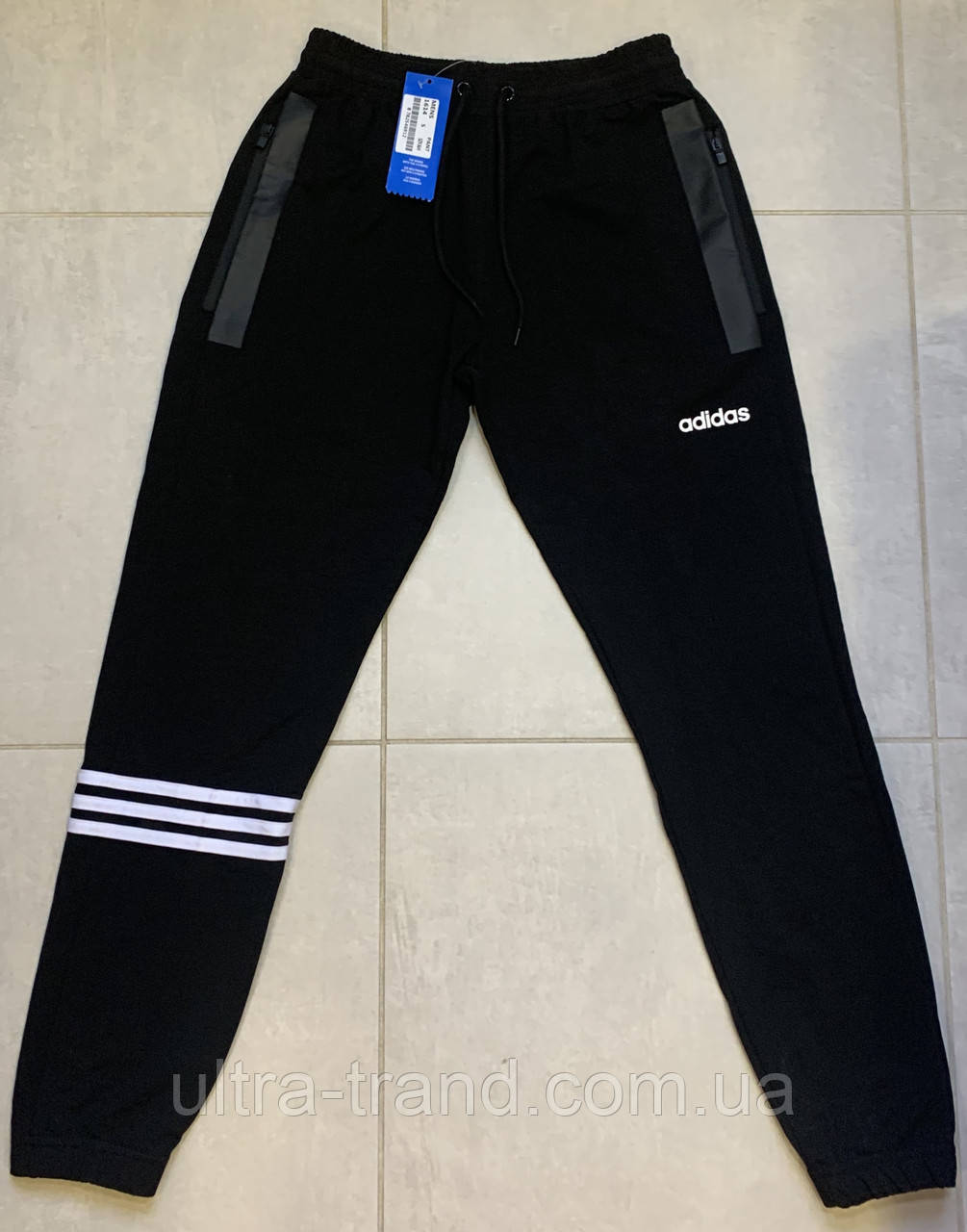 Мужские спортивные турецкие брюки штаны Adidas