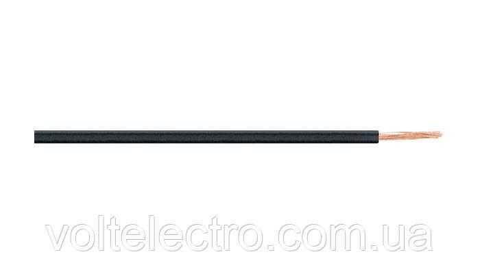 Провод H05V-K 1X0,5 черный