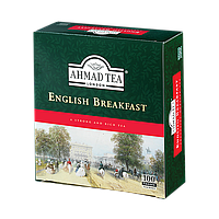 Чай черный Ahmad Tea English Breakfast 100 пакетов 200 грамм