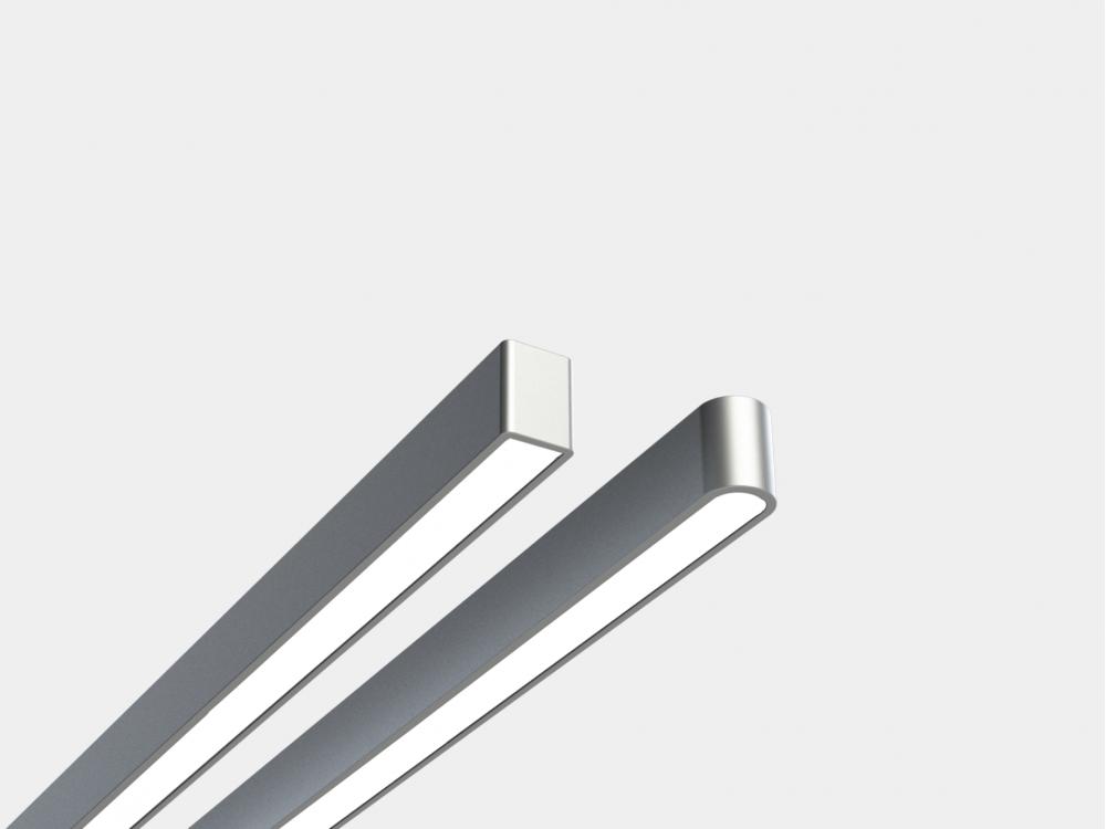 Лінійний підвісний світлодіодний світильник LINEA-120 led освітлення 43Вт 5590лм