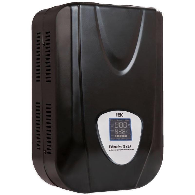 Стабилизатор напряжения релейный IEK Extensive 8 кВА (6,4 кВт, настенный)