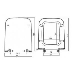 Сидіння для унітазу KOLO LIFE / M20112000 / Soft close, фото 2