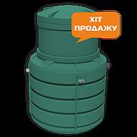 ZS - 6  (на 6 человек) cистема очистки канализационных стоков  от компании  ZELENA SKELIA® (Украина)