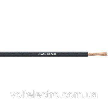 Провод H07V-K 1X6 черный