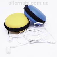 Проводные вакуумные наушники Utty headset UHS-122 с микрофоном проводная гарнитура (цвет белый)