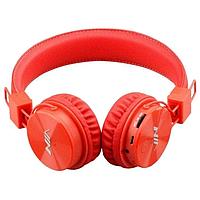 Наушники беспроводные Bluetooth NIA MRH-8809 оранжевые