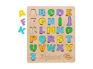 Деревянный сортер -  Английский алфавит