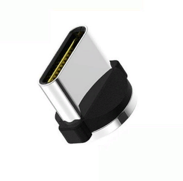 Овальный штекер коннектор Type C для магнитного кабеля с передачей данных TOPK