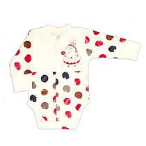 Боди для новорожденных Baby Veres Sweet Unicorn интерлок
