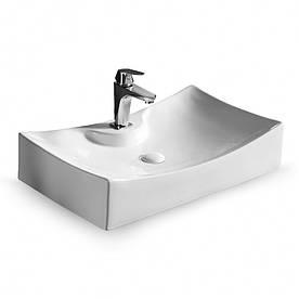 Умывальник Rea Impero N 39 x 67 см Белый (hub_qsJn95046)