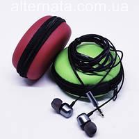 Проводные вакуумные наушники Нoco М31 с микрофоном проводная гарнитура (цвет черный)