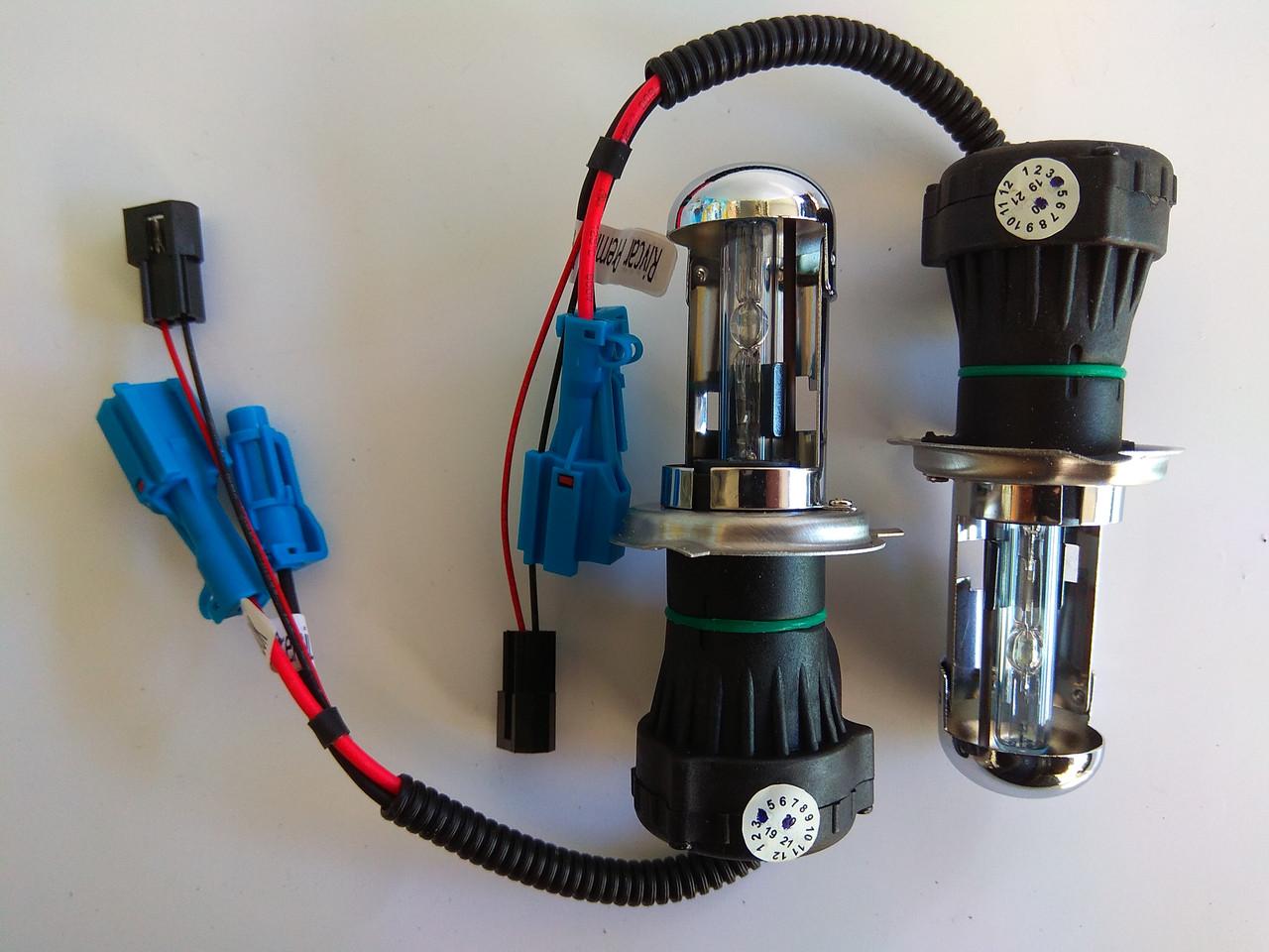 Биксеноновые лампы Rivcar Premium H4 6000k