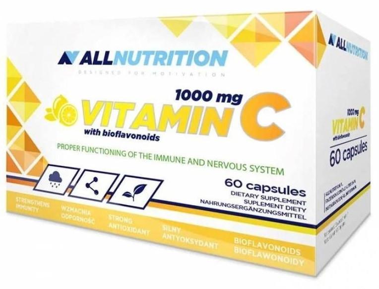 Витамины AllNutrition - Vitamin C 1000 мг (60 капсул)