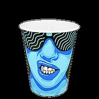 "Стакан бумажный ""#CoffeeParty"" 400мл. 50шт/уп (1ящ/20уп/1000шт) (КР91/РОМБ91)"
