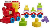 Развивающая игрушка Fisher Price Поезд-пирамидка Веселый Львенок SKL52-239455