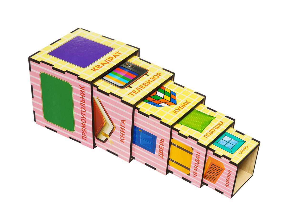Кубики - матрёшки: Формы