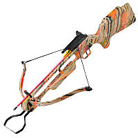 Арбалет винтовочного типа Man Kung 200A1AC (длина: 890мм, сила натяжения: 18кг),комплект, лист.камуф