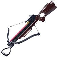 Арбалет Man Kung MK-150A3W, Рекурсивний, гвинтівкового типу, дерев'яний приклад ц:коричневий (MK-150A3W)