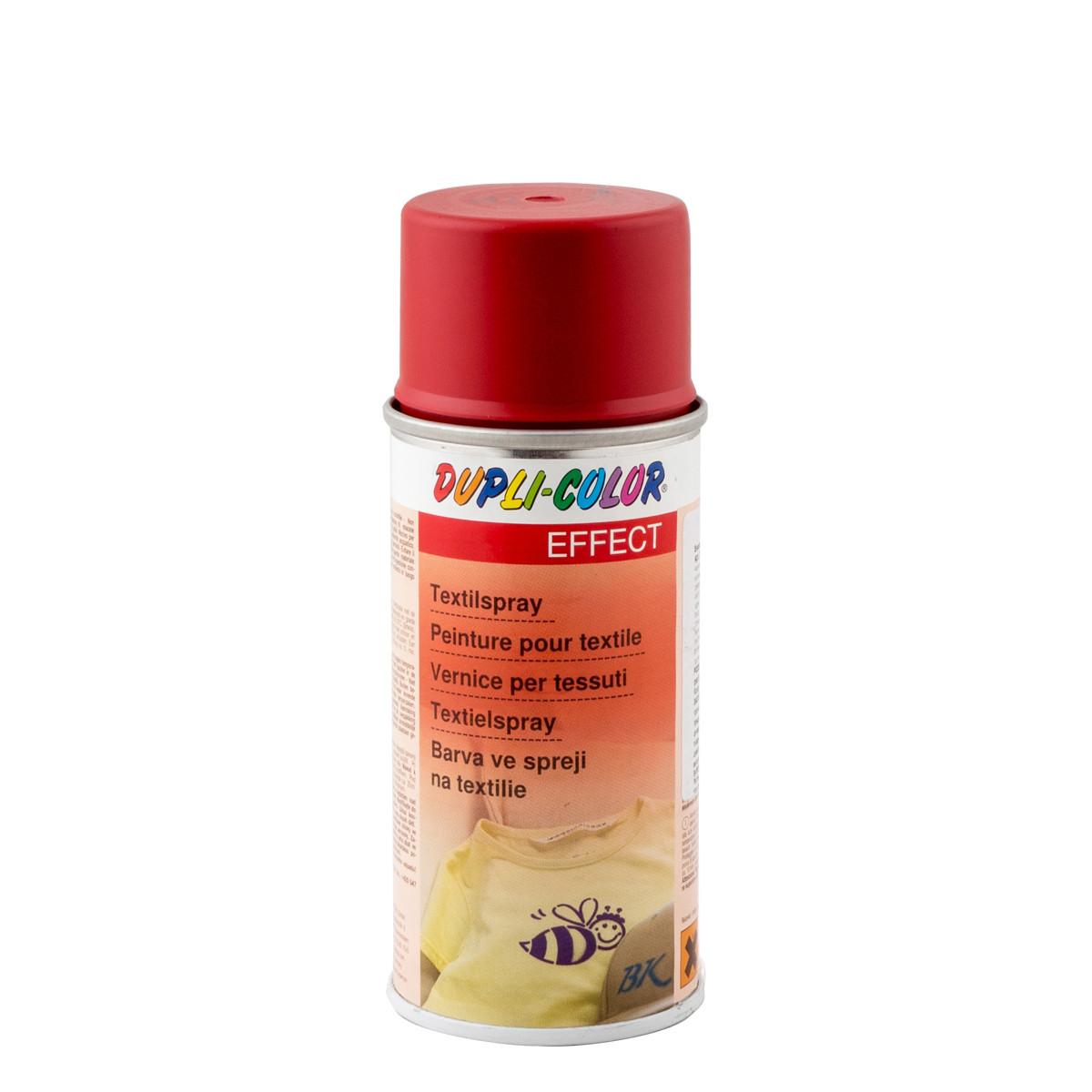Эмаль аэрозольная для текстиля красная Dupli Color 150 мл