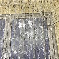 Фіранки для веранди хола передпокою, фіранки з фатину в зал спальню кухню вітальню, тюль ламбрекени для будинку спальні залу кухні, фото 7