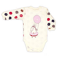 Боди сплошной baby Veres Sweet Unicorn интерлок