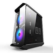 Корпус 1stPlayer X8 RGB LED Black без БЖ
