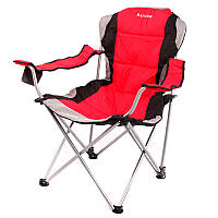 Крісло доладне туристичне Ranger FC 750-052 (970х480х440мм), червоне, фото 1