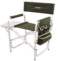 Крісло доладне туристичне Ranger FC 95200S (870х490х810мм), зелений, фото 1