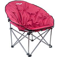 Кресло складное туристическое Ranger Ракушка (1070х900х940мм), розовое