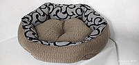 Лежанка для собак 70 х 60 см.Лежанка,Лежаки,лежак,лежак для кошки,лежак для собак,лежанка, фото 6