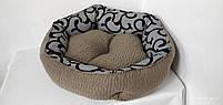Лежанка для собак 70 х 60 см.Лежанка,Лежаки,лежак,лежак для кошки,лежак для собак,лежанка, фото 5