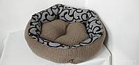 Лежанка для собак 70 х 60 см.Лежанка,Лежаки,лежак,лежак для кошки,лежак для собак,лежанка, фото 4