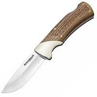 Нож складной Boker Magnum Woodcraft (длина: 207мм, лезвие: 88мм), дерево