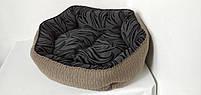 Лежанка для собак 70 х 60 см.Лежанка,Лежаки,лежак,лежак для кошки,лежак для собак,лежанка, фото 2