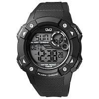 Мужские спортивные часы Q&Q M121 черные