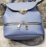 Сумка рюкзак кожаная женская от производителя модель СР10-4, фото 3