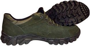 Тактические кроссовки Energy (перфорация №2 зеленые)
