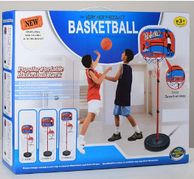 Детский баскетбольный набор Bambi MR 0148, стойка 1,2 м, баскетбольное кольцо, мяч, насос