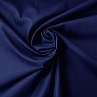 Ранфорс однотонный тёмно-синий, ш. 240 см