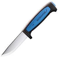 Нож фиксированный Mora Pro S (длина: 206мм, лезвие: 91мм), черный/синий