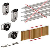 Комплект роликов Valcomp ARES2 для 1-ой двери шкафа - купе до 70 кг (219-089)