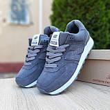 Жіночі кросівки в стилі New Balance 574 сірі, фото 4