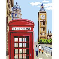 """Акриловая живопись по номерам """"Лондон"""", набор ROSA START"""