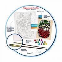 Набор для творчества Rosa акриловая живопись по номерам Стиляга 35х45 см (N0001341)